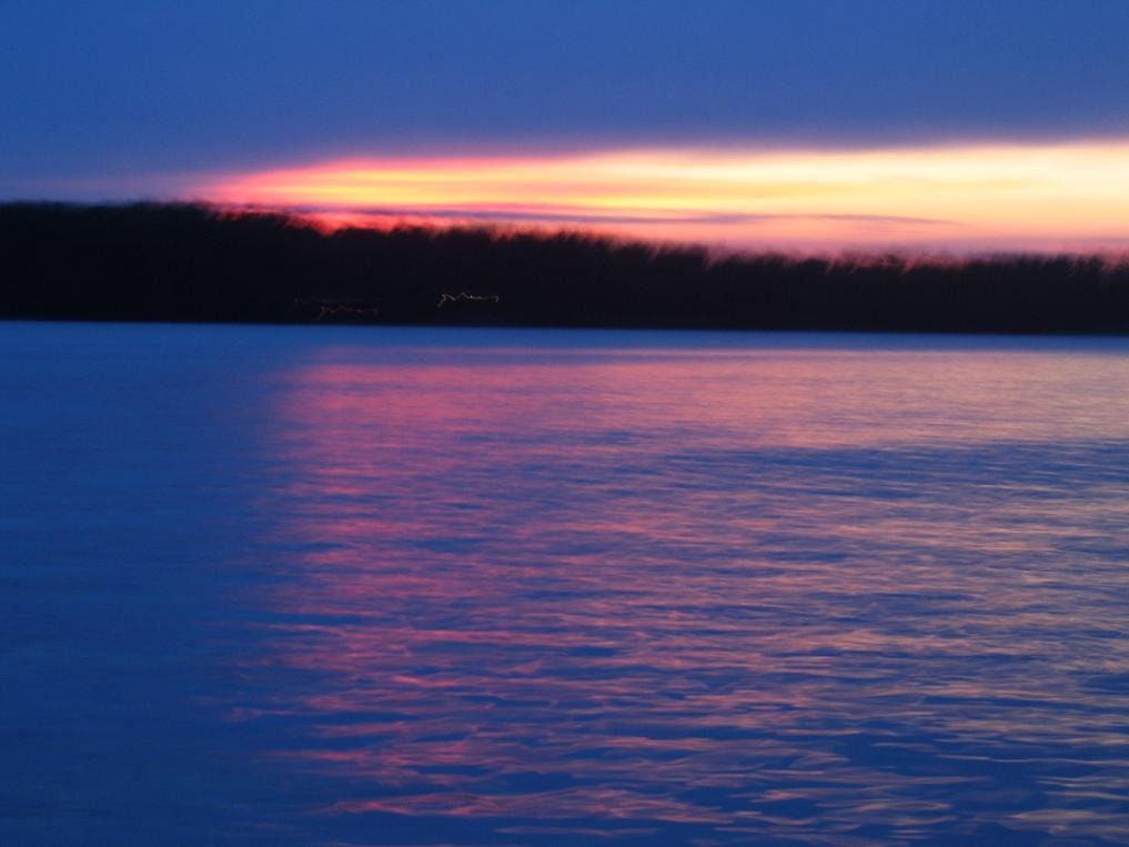 slow shutter sunset...i like