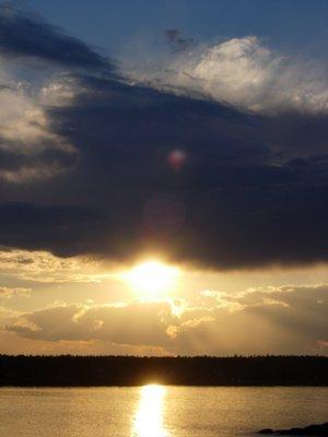 sick sunset shot
