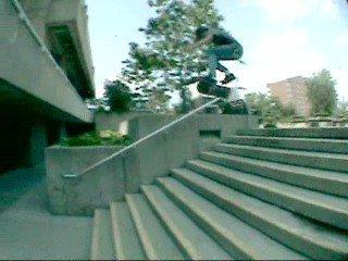 Myself skateboarding