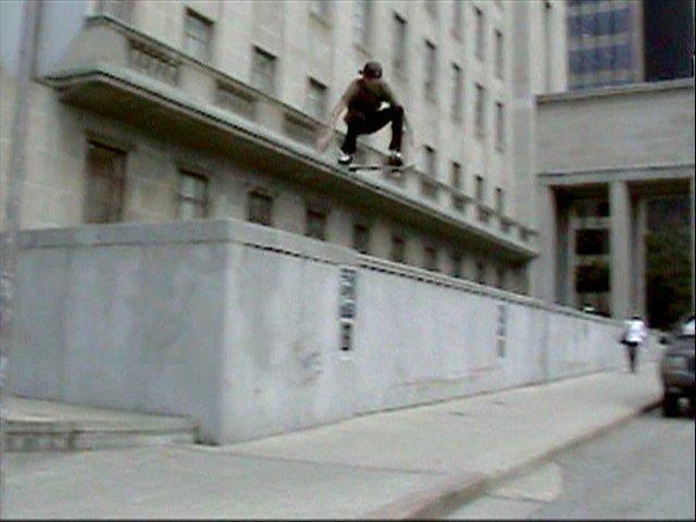 once again, me skating