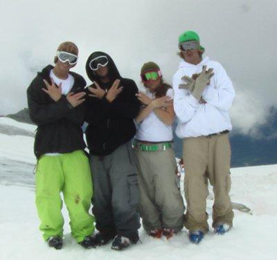 waterville stunt skiers booyah!