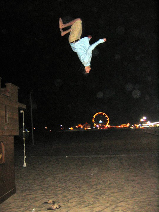 High Backflip at Ocean City