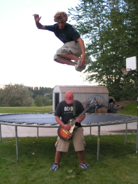 jumping over a guitar worth more than my life