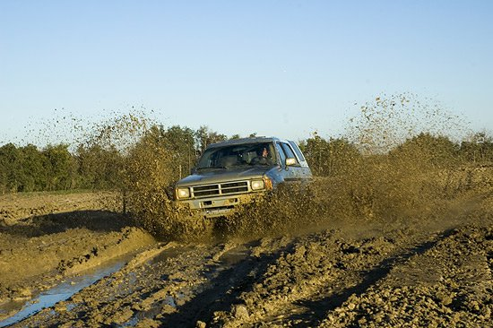 A bit of Offroading