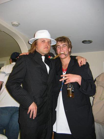 Magrittz and Schmuck Mobster Party