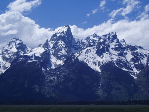 The middle/Grand teton