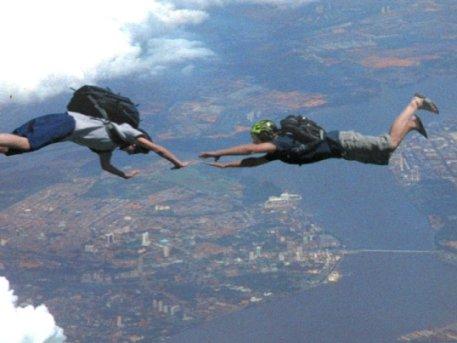 casual skydiving
