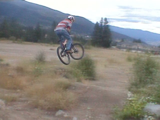 whiping out the jump