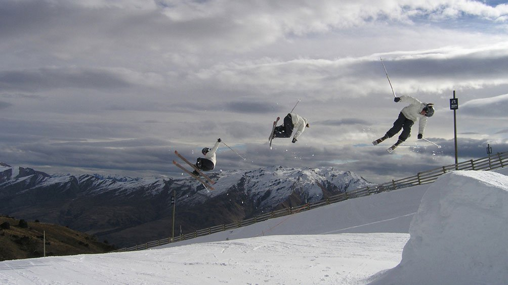 Corked 540 at Snowpark NZ