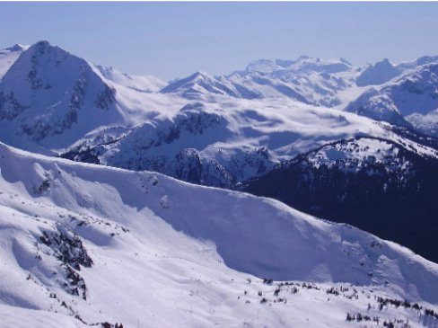 the whistler view