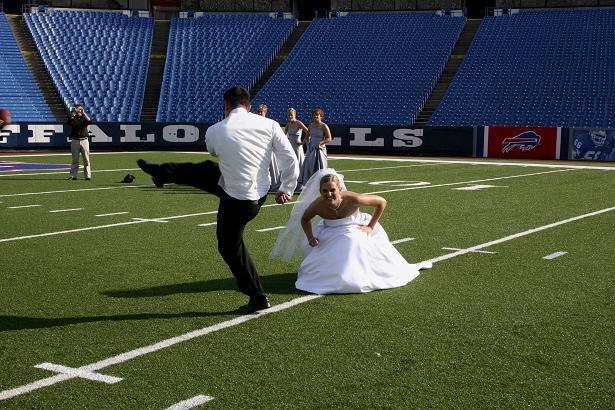 Buffalo Bills Stadium Wedding pics #2