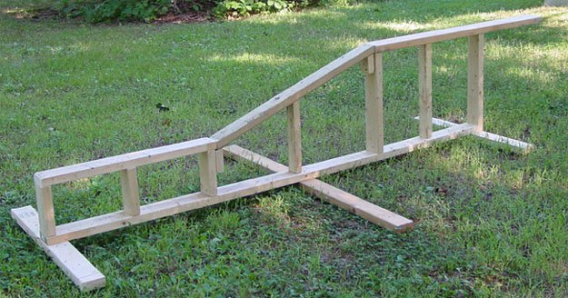 My New 10 foot kink rail.  Suggestions?