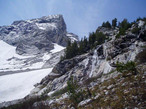 Middle Teton from Cascade Canyon
