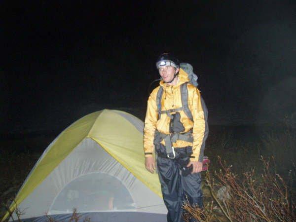 Alpine start@3am.