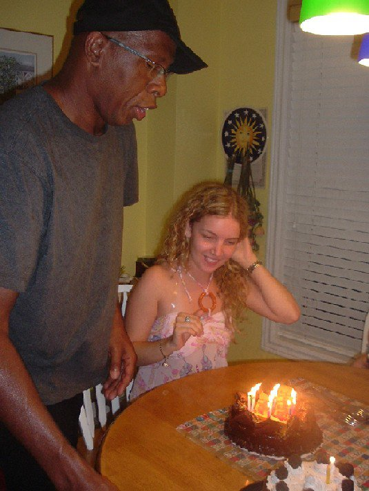 Glynn and Mallory on her 20th bday...