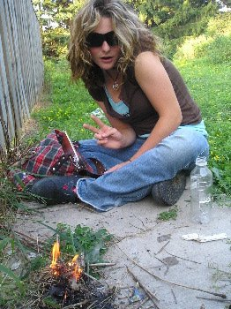 lets get high and make a bonfire...#2