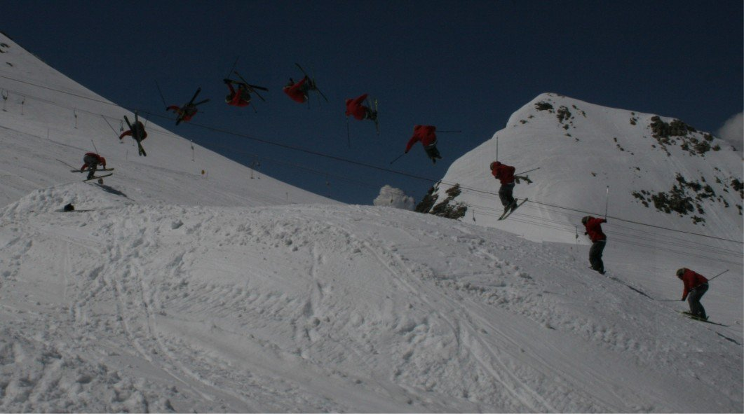 A nice corked 5 this may in Hintertux
