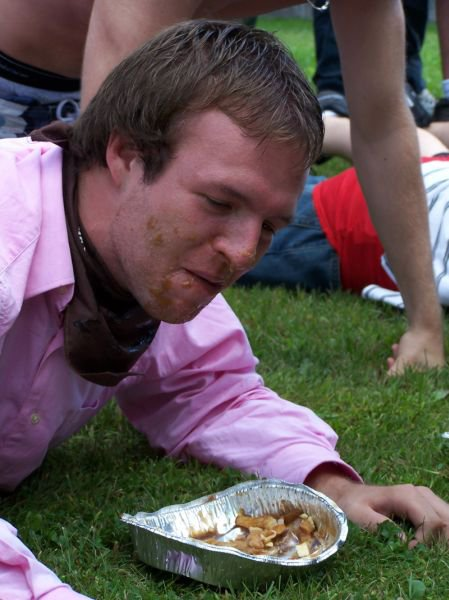Poutine Eating Contest