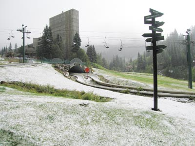 First snow of the season!