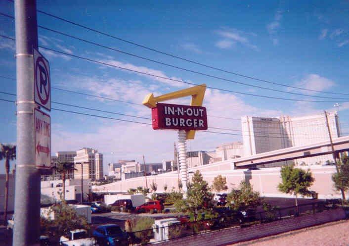 In-N-Out Burger in Vegas