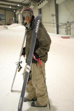 Indoor Ski Field yay!!