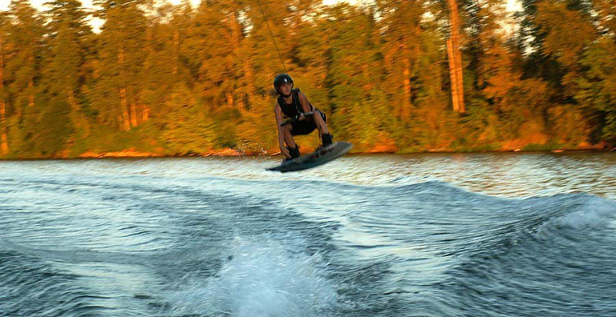 Fall Wakeboarding