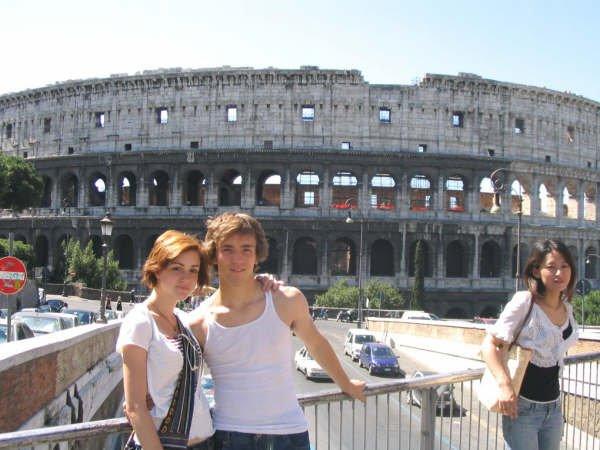 Coliseum shot
