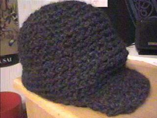 first chrochet hat