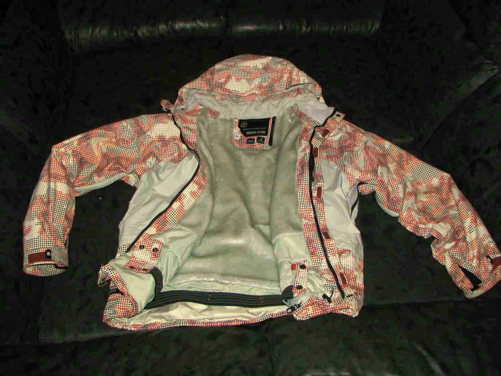 red digi camo coat - for sale