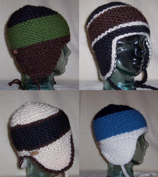 4 hats i knit