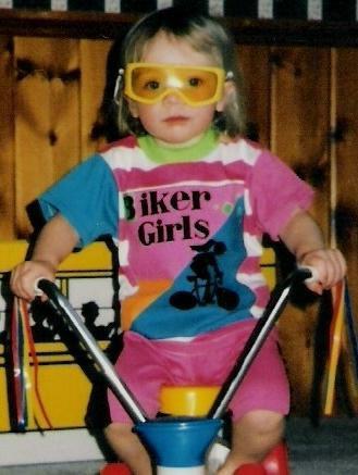 my girlfriend, circa 1991