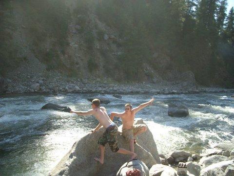river dancin