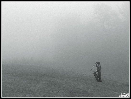 Golf in the Fog