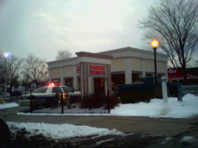 Cops love donuts