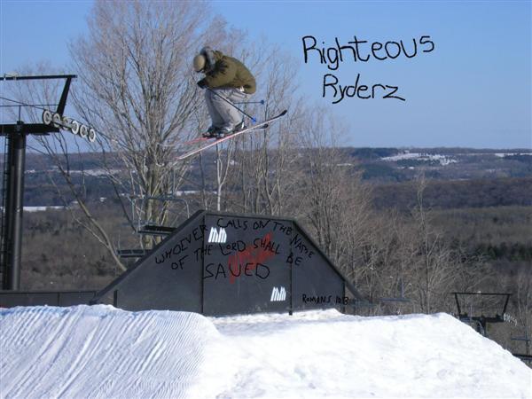 Skier at Moonstone