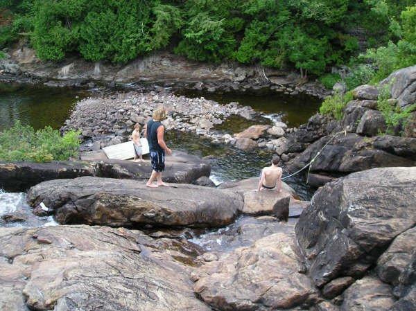 Waterfall In T-Blant