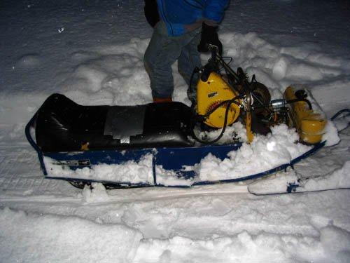 my snowmobile