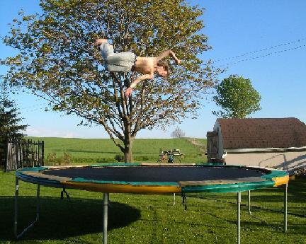 Me on my tramp