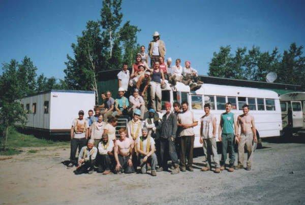 treeplanting crew