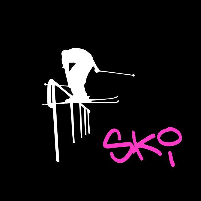 Ski B&W1