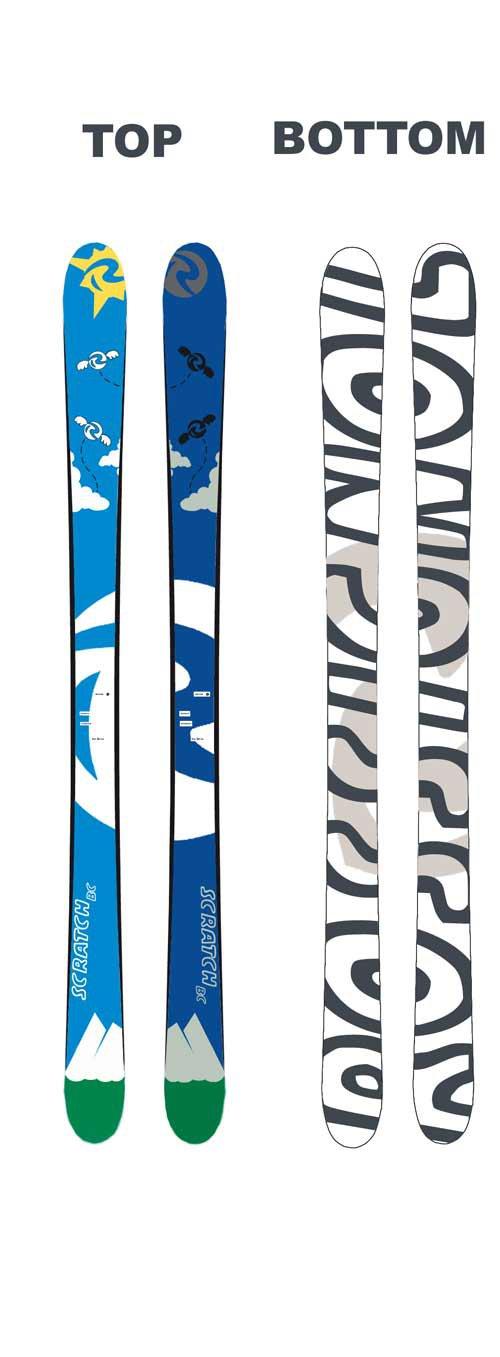 rossi skis design
