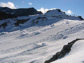 Post High North Glacier