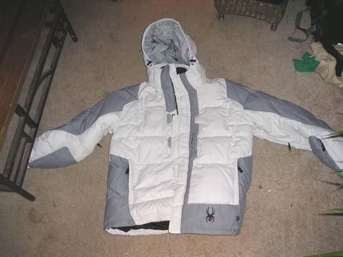 Spyder Jacket for sale, brand new