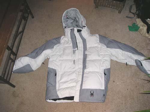 Spyder Jacket for sale, brand new