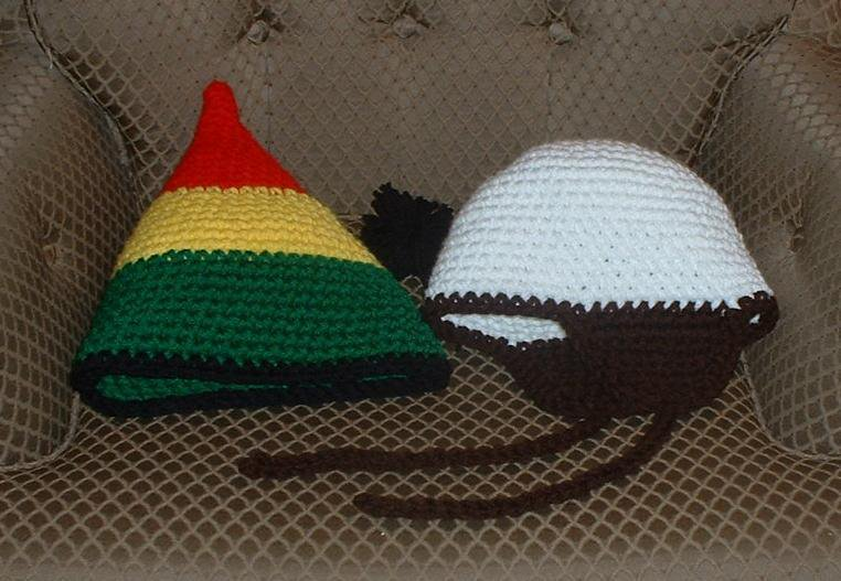 hat for shane, and big rasta