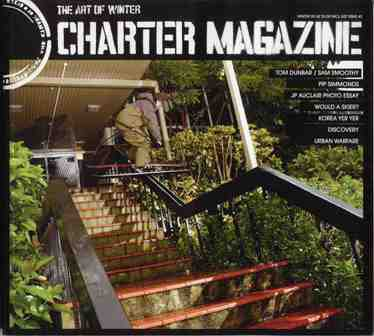 front cover shot 'charter'