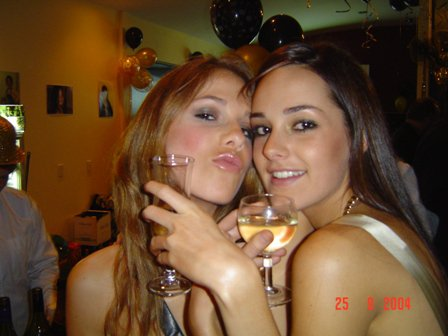 chloe at her 21st