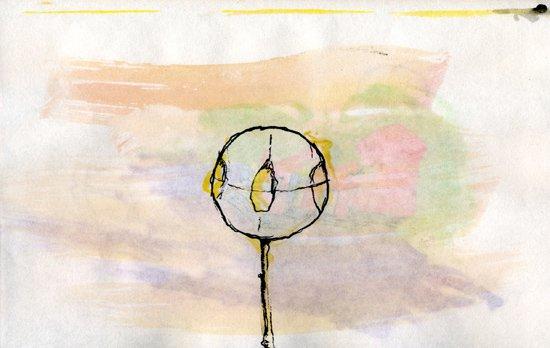 Watercolor & Pen weirdness