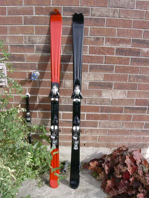my painted skis 2
