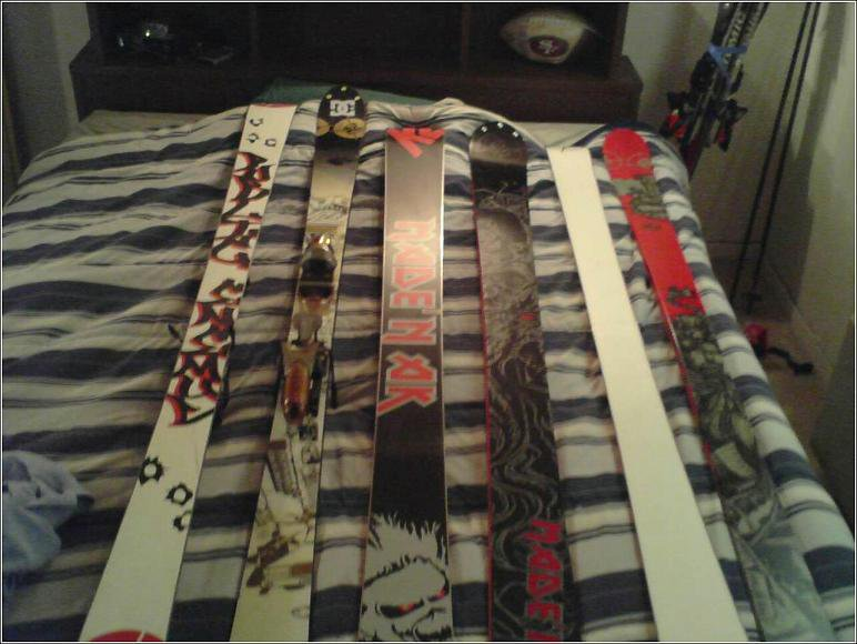 My new skis for this season 05/06